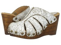 Sbicca Elemental White Women's Clog Shoes
