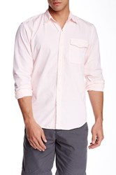 Save Khaki Woven Classic Fit Shirt Pink