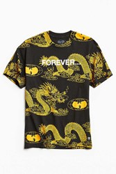 Urban Outfitters Wu Wear Forever Dragon Tee Black