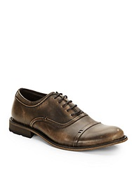 Joe's Jeans Gabor Leather Lace Ups Brown