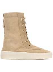 Yeezy 'Cremino' Boots Nude And Neutrals
