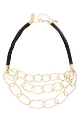 Natasha Couture Women's Chain Link Necklace
