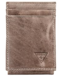 Guess Naples Front Pocket Wallet Grey
