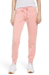 Juicy Couture Zuma Velour Track Pants Sorbet Pink