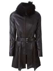 Philipp Plein 'Number' Coat Black