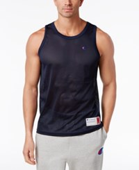 Champion Men's Mesh Tank Top Navy