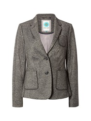White Stuff Hamilton Heights Tweed Blazer Grey