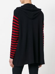 Chinti And Parker Striped Cardigan Women Cashmere L Blue