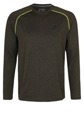 Your Turn Active Long Sleeved Top Dark Green