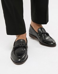 House Of Hounds Blain Bar Loafers In Black