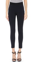 J Brand Quinn Scuba Cropped Leggings Black