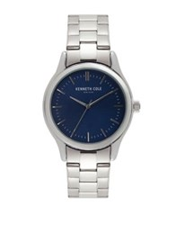 Kenneth Cole Classic Stainless Steel Bracelet Watch Silver