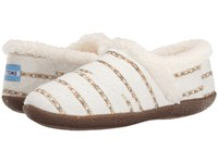 Toms Slipper White Gold Boucle Women's Slippers