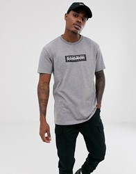Napapijri Sox T Shirt In Grey