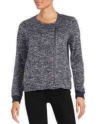 Vince Camuto Asymmetrical Zip Front Sweater