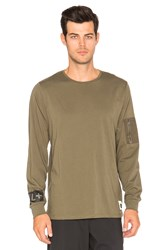 Cahill Legacy Long Sleeve Tee Olive