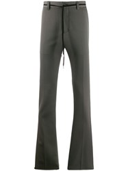 Lanvin Wool Chinos Grey