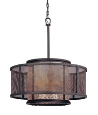 Troy Lighting Copper Mountain 3105 Pendant Brown