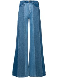 Frame Le Palazzo Jeans Blue