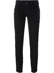 Diesel Black Gold Panelled Jeans