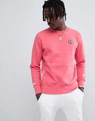 Aape By A Bathing Ape Sweatshirt With Universe Back Print Pink