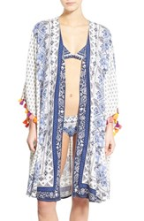 Women's Roxy 'Souk' Paisley Cover Up