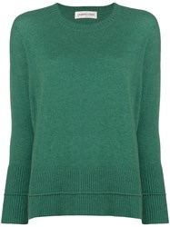 Lamberto Losani Round Neck Sweater Green