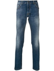 Entre Amis Slim Faded Jeans Blue