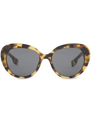 Burberry Oversized Cat Eye Sunglasses 60
