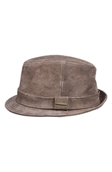 Stetson Suede Trilby Earth