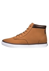 Radii Footwear Basic Hightop Trainers Tan Chocolate Light Brown