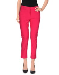 Angelo Marani Trousers Casual Trousers Women Fuchsia