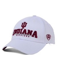 Top Of The World Indiana Hoosiers Fan Favorite Cap White