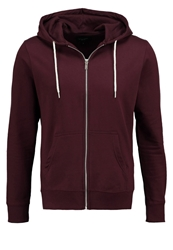 New Look Tracksuit Top Burgundy Bordeaux