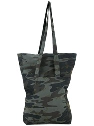Assin Camouflage Large Tote Multicolour
