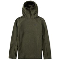 Nike Tech Fleece Pullover Hoody Green