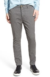 Men's Barney Cools 'B. Line' Slim Fit Chinos Stretch Chambray