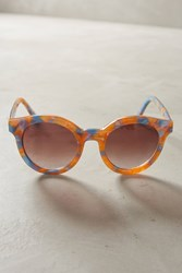 Anthropologie Nikee Sunglasses Peach