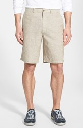 Men's Patagonia 'Back Step' Shorts Chambray Ash Tan