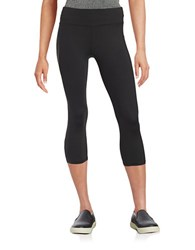 Betsey Johnson Stretch Active Capris Black