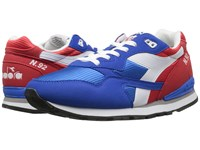 Diadora N 92 Poppy Red Imperial Blue Men's Shoes