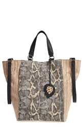 Tommy Bahama Reef Convertible Tote Grey Snake