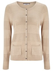 Dash Pointelle Cream Cardi Neutral