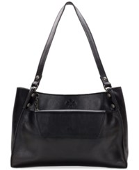 Patricia Nash Segovia Medium Tote With Removable Clutch Black