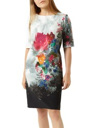 Fenn Wright Manson Petite Kamelia Print Dress Multi