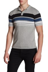 Parke And Ronen Pipeline Polo Gray