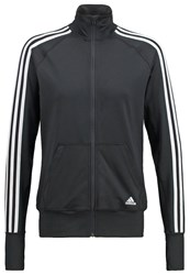 Adidas Performance Tracksuit Top Black White