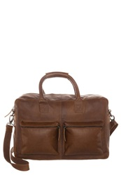 Zign Across Body Bag Cognac Brown