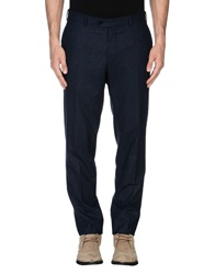 Luigi Bianchi Mantova Casual Pants Dark Blue