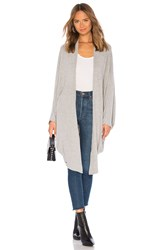 Chaser Cocoon Cardigan Gray